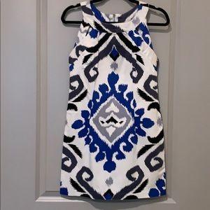 Aztec Print. Cut Out. Dress. Size 5/6.